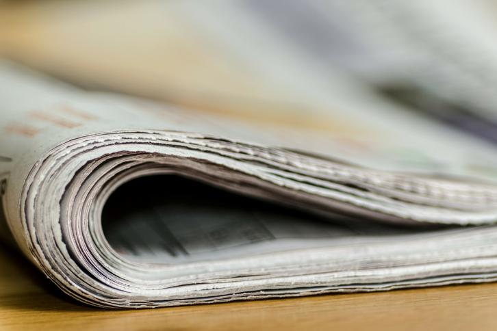 Dagens utfordring #30: Aviser