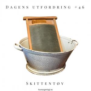 Dagens utfordring #46: Skittentøy